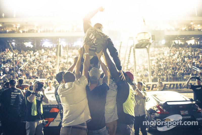 Chris Forsberg is crowned champion
