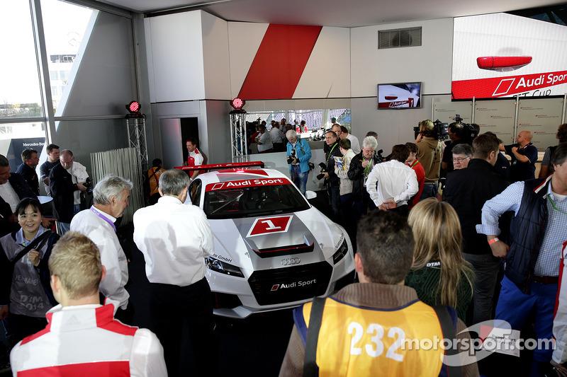 Présentation de la Coupe Audi TT