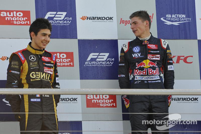 Esteban Ocon,Max Verstappen