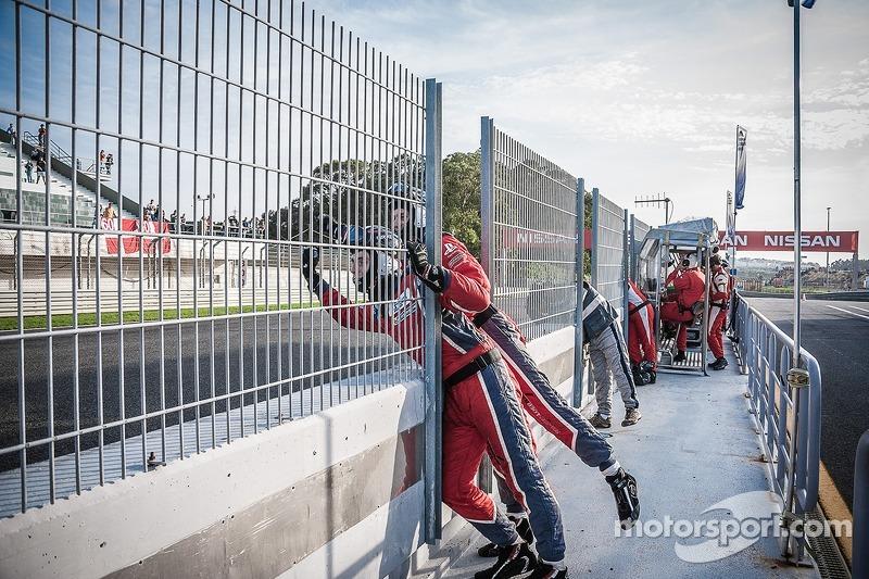 Sebastien Loeb Racing Team Celebrando