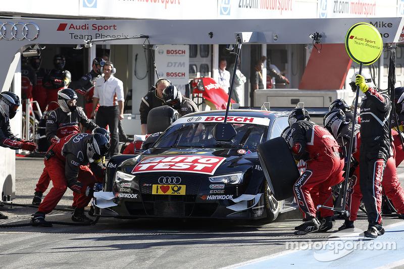 Parada en pits de, Timo Scheider, Audi Sport Team Phoenix Audi RS 5 DTM