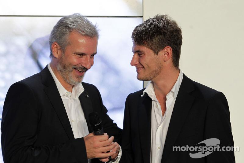 Director de BMW Motorsport Jens Marquardt y Marco Wittmann