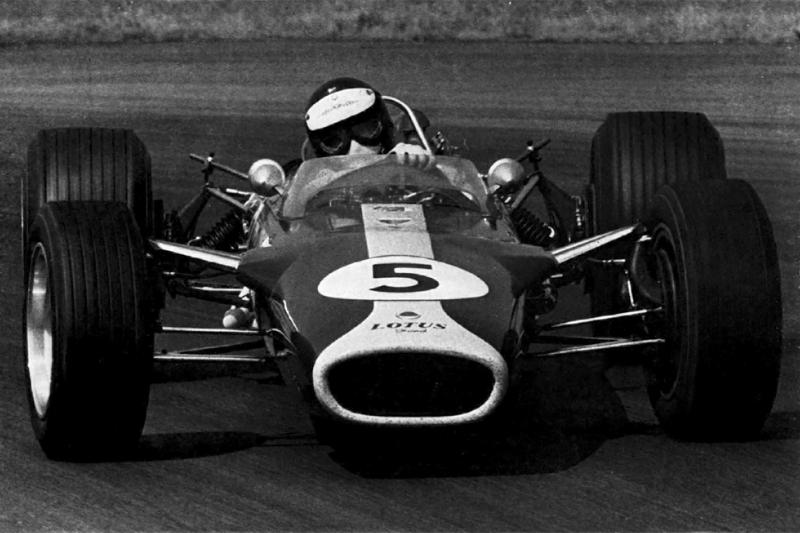 1967: Jim Clark, Lotus 49 Ford Cosworth