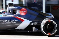 Adrian Sutil, Sauber C33, testando o equipamento