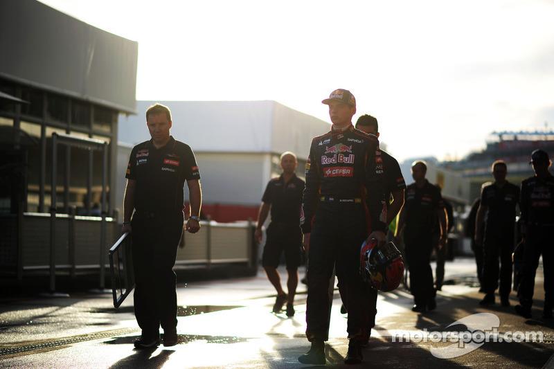 Max Verstappen, Scuderia Toro Rosso piloto de pruebas