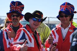 Fans británicos