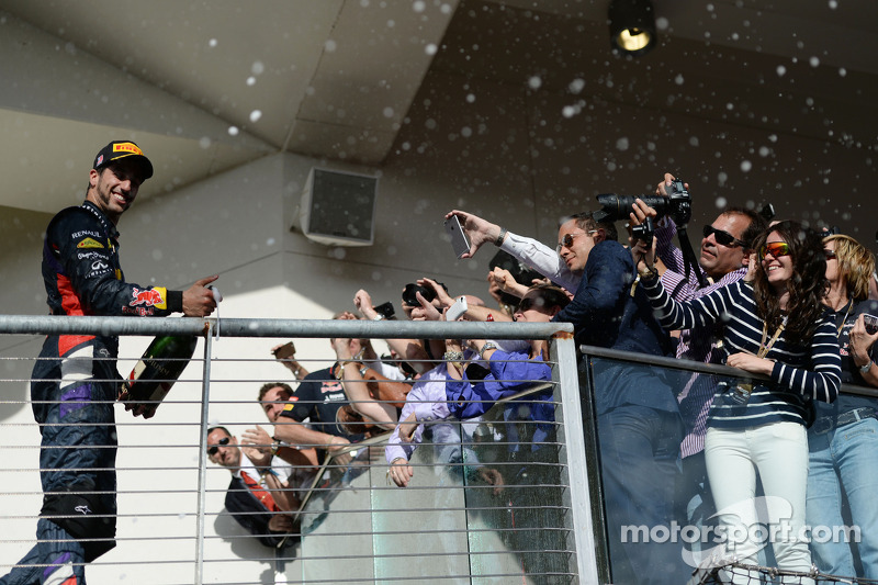 Даниэль Риккардо. ГП США, Воскресенье, после гонки.