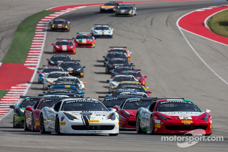 Via: #27 Ferrari of Houston: Mark McKenzie al comando
