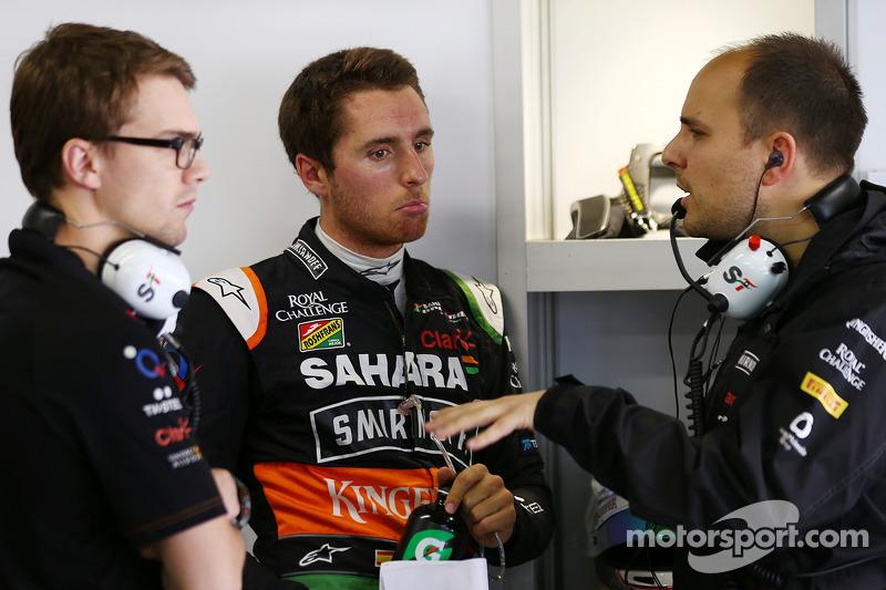 Daniel Juncadella, Sahara Force India F1 Takımı Test ve Yedek Pilotu ve Gianpiero Lambiase, Sahara F