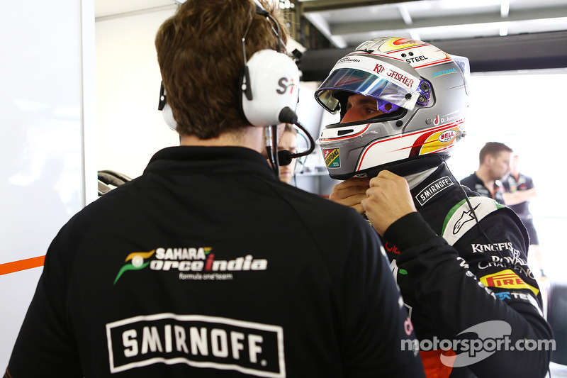 Daniel Juncadella, piloto de reserva de Sahara Force India F1 Team