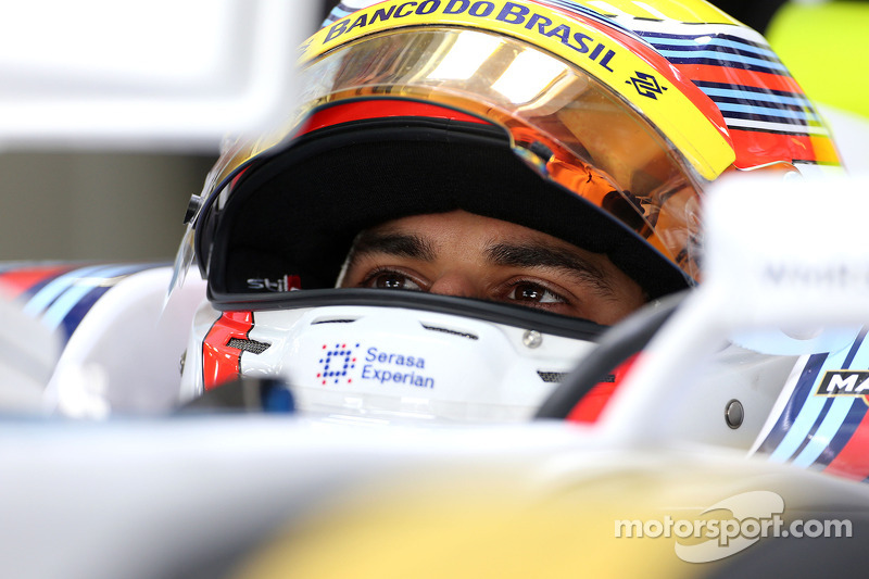 Felipe Nasr, third driver, Williams F1 Team  07
