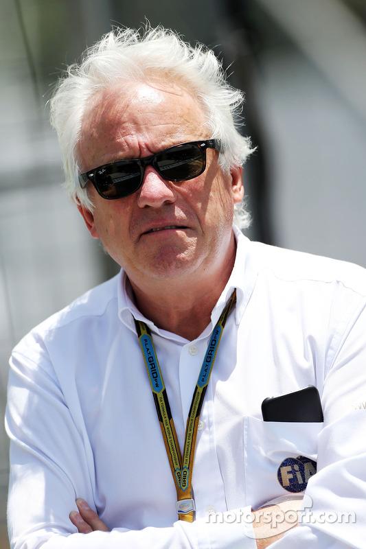Charlie Whiting, comissário da FIA