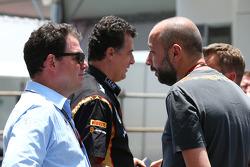 James Allen, journaliste, avec Gérard Lopez