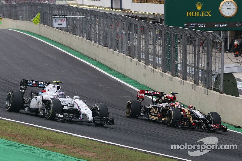 Valtteri Bottas, Williams F1 Team e Pastor Maldonado, Lotus F1 Team