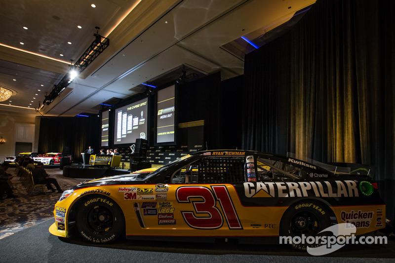 Şampiyona yarışmacıları Basın konferansı: Ryan Newman'ın aracı, Richard Childress Racing Chevrolet