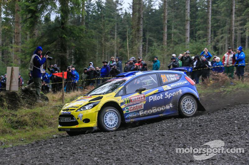 Matdew Wilson y Scott Marten, Ford Fiesta WRC