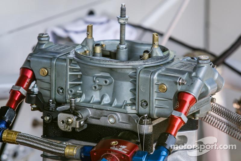 Motor detayı, Matt Crafton'un kamyonu