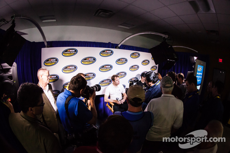 Conferencia for de Nationwide Series y Camping World Truck Series: Brad Keselowski