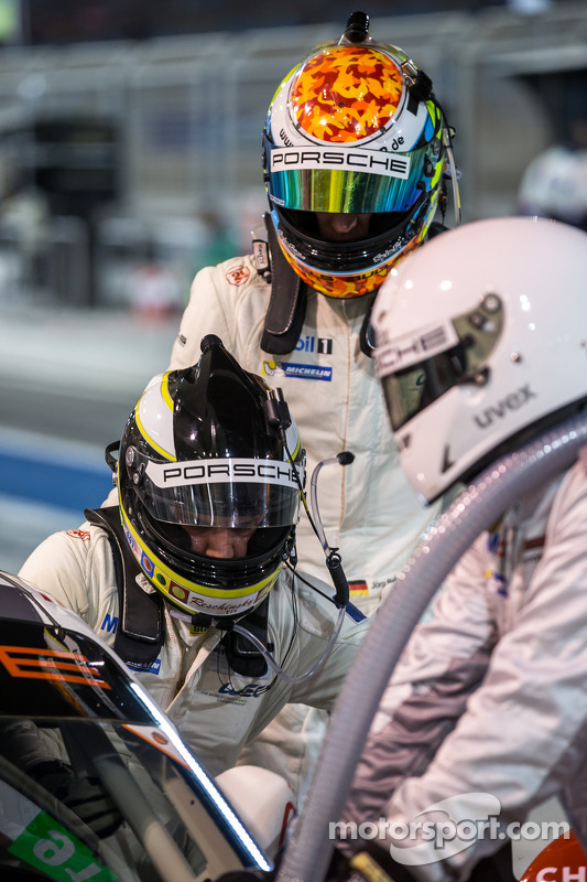Pilot değişikliği: Richard Lietz ve Jörg Bergmeister
