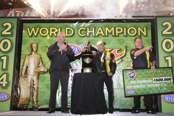 Tony Schumacher, Champion Top Fuel 2014