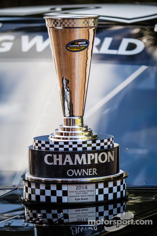 NASCAR Camping World Truck Series: troféu