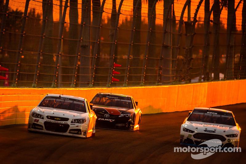 Josh Wise, Mike Curb Ford y Blake Koch, FAS Lane Racing Ford