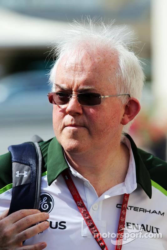 Finbarr O'Connell, Caterham F1 Team