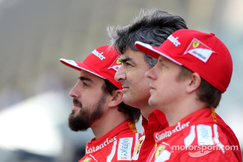 Marco Mattiacci, Ferrari, Teamchef; Fernando Alonso, Ferrari