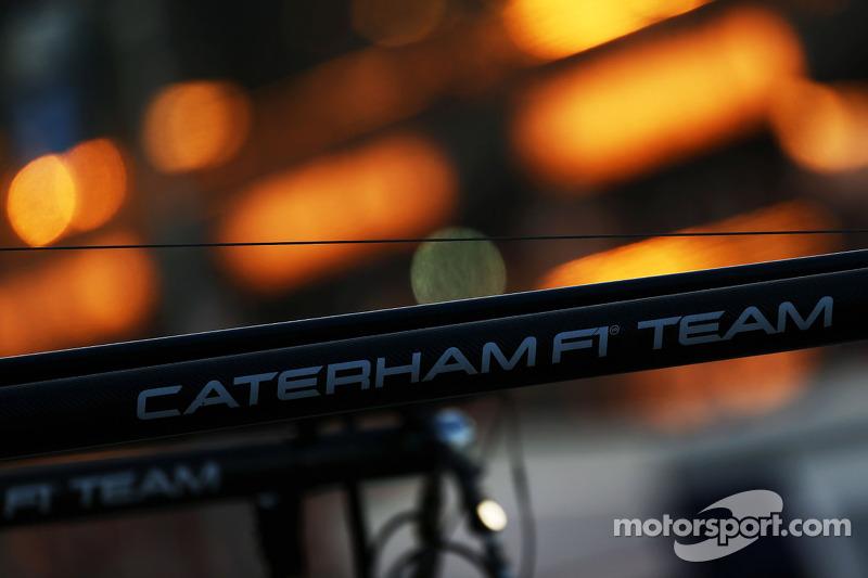 Caterham F1 Takımı pitstop malzemeleri