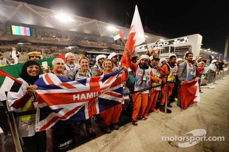 ГП Абу-Даби, Воскресенье, после гонки.