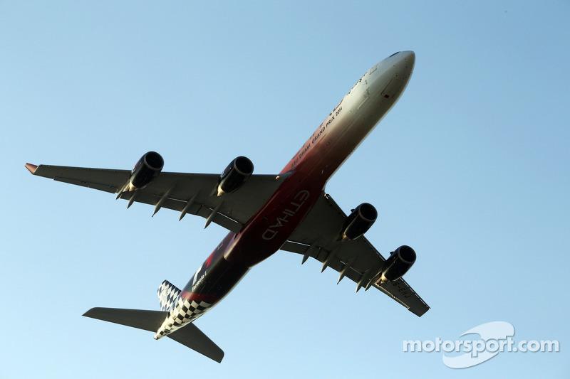 Etihad uçağı