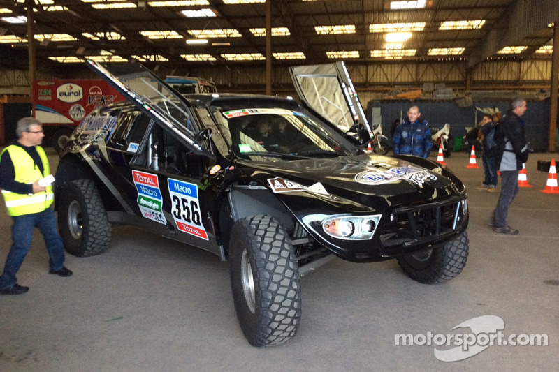 El Martillo Racing ready for Dakar