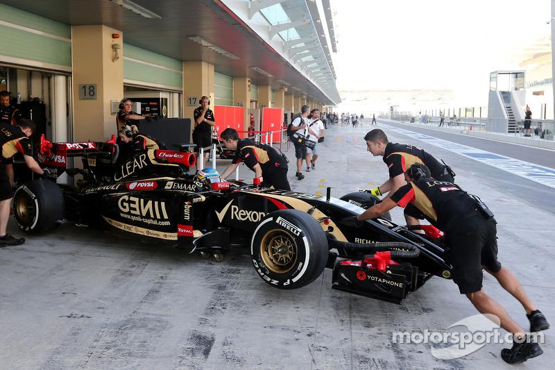 Charles Pic, terceiro piloto da Lotus F1 Team