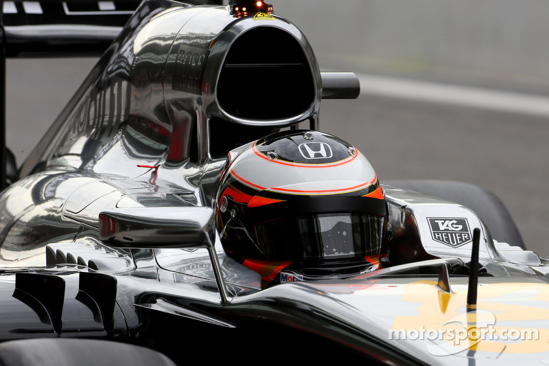 Stdefel Vandoorne, tercero piloto, McLaren F1 Team