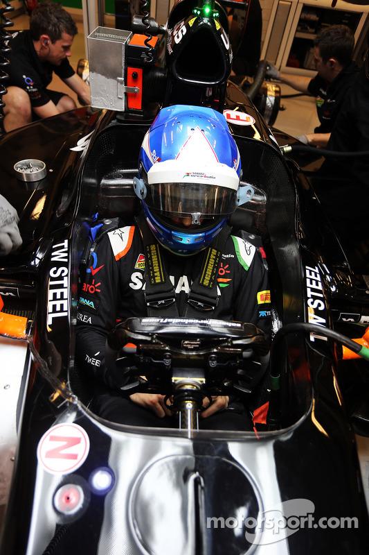 Jolyon Palmer, Sahara Force India F1 VJM07