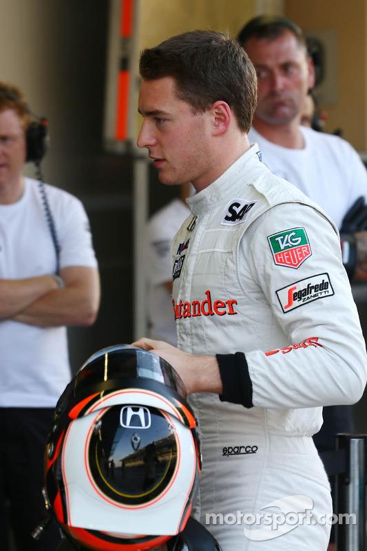 Stoffel Vandoorne, terzo pilota McLaren