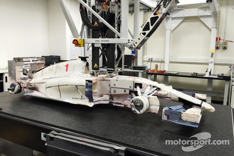 2015 Marussia F1 model