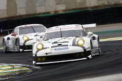#92 保时捷 曼泰车队 保时捷 911 RSR: 弗里德利·马可维基, 帕特里克·皮勒