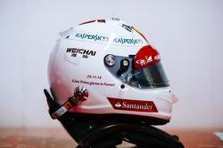 Sebastian Vettel capacete