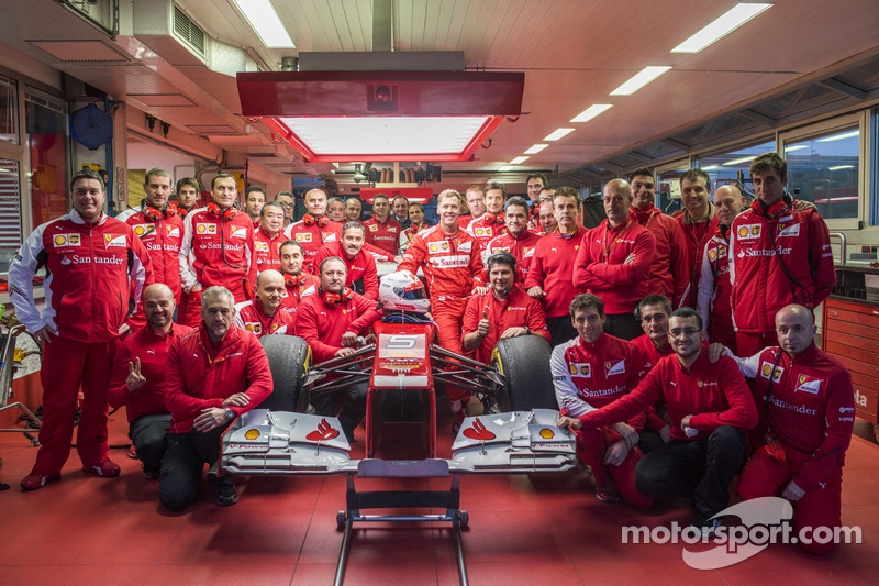 Sebastian Vettel e a Scuderia Ferrari