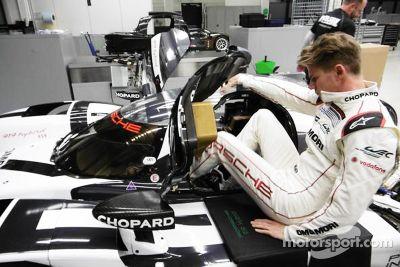 Nico Hulkenberg Porsche koltuk ayarı