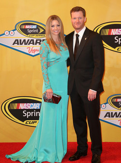 Dale Earnhardt Jr. and his girlfriend Amy Reimann