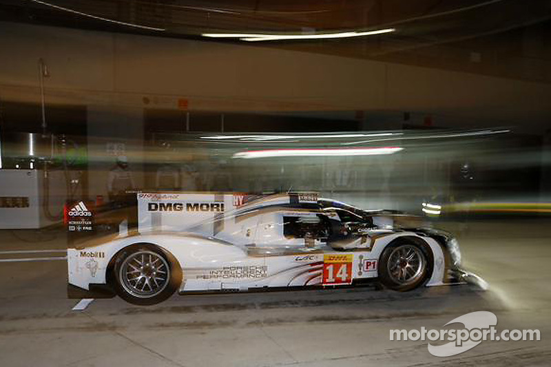 #14 Porsche Team Porsche 919 Hybrid: Nico Hulkenberg