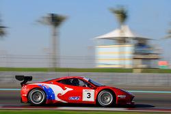#3 AF Corse 法拉利 458 GT3: 斯蒂夫·怀亚特, 米歇尔·鲁格罗, 达维德·里贡