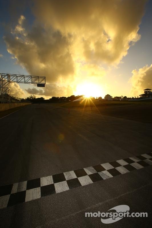 O sol se põe em Barbados