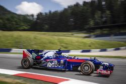Tony Cairoli dans une Red Bull aux couleurs de Toro Rosso