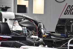 Haas F1 Team VF-18 engine