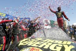 Race winner Martin Truex Jr., Furniture Row Racing, Toyota Camry 5-hour ENERGY/Bass Pro Shops