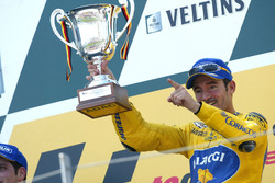 Podium : le vainqueur Max Biaggi, Yamaha