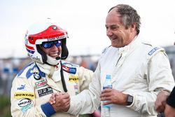 Harald Grohs, BMW 3.0 CSL and Gerhard Berger, Porsche 935